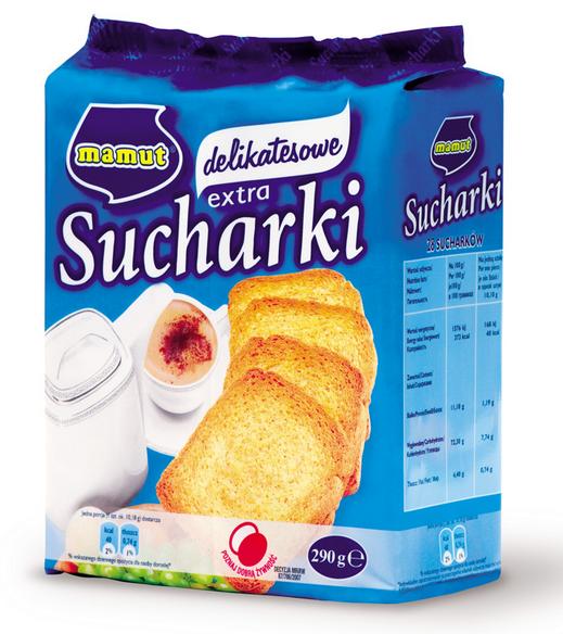 Kupić Sucharki delikatesowe 290 g.
