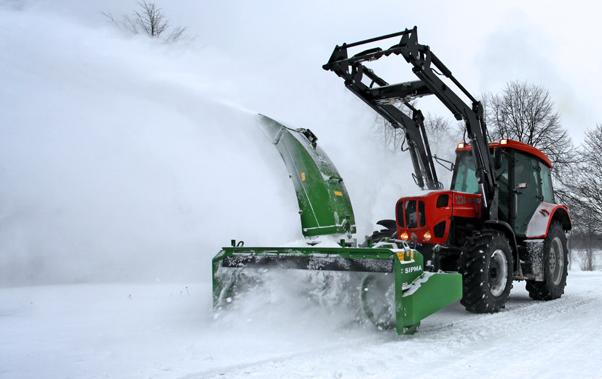 Śniegosprzątarki ogrodowe