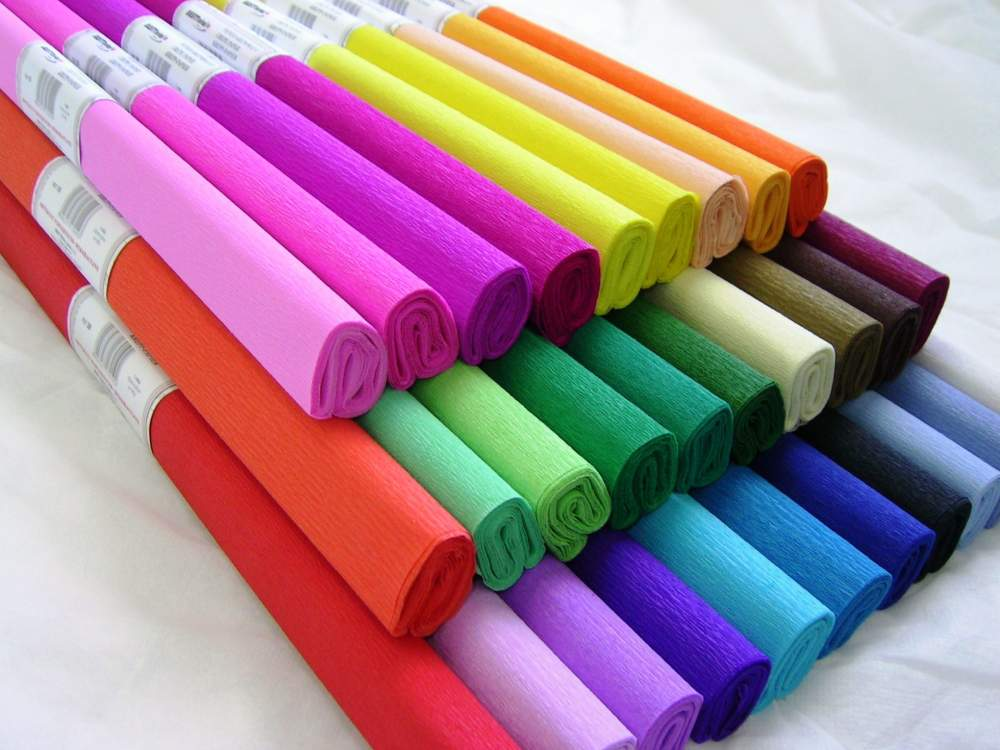 Kupić Bibuła marszczona kolor