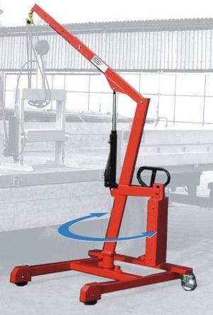 Żurawie hydrauliczne skrętne PZHS