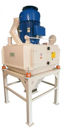 Kupić Rozdrabniacze pionowe RB-P zaprojektowane do śrutowania ziarna zbóż po modyfikacji znajdują zastosowanie jako łamacze wytłoku w zakładach przemysłu olejarskiego.