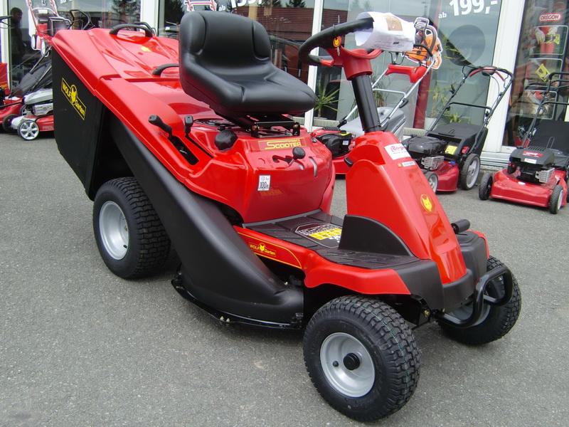 Kupić Traktorek Scooter PRO rider WOLF Garten