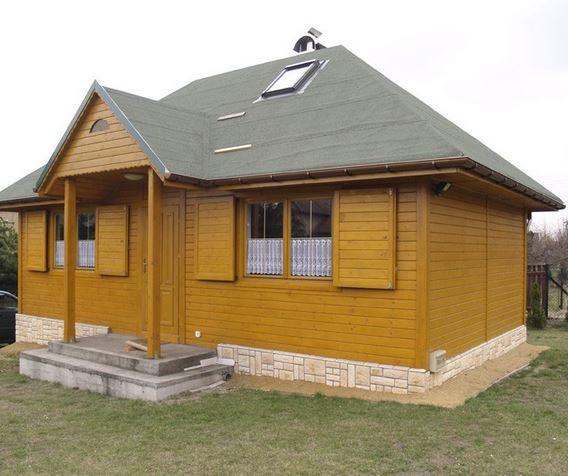 Kupić Domy drewniane mieszkalne