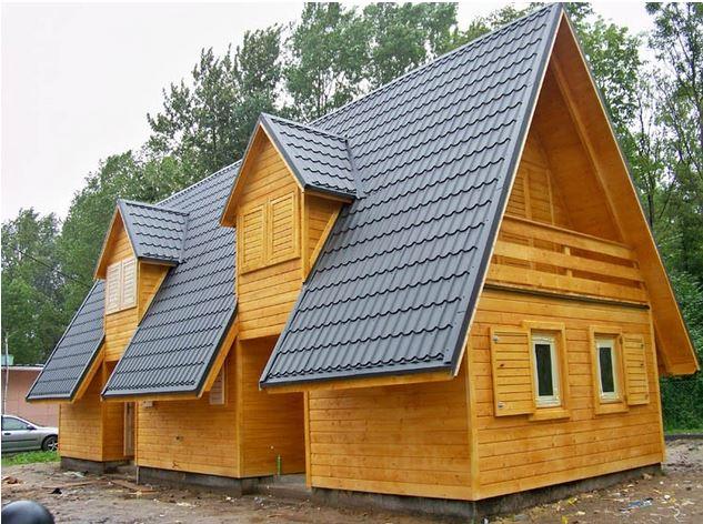 Kupić Domy drewniane nadające się do zamieszkania przez cały rok, ocieplane