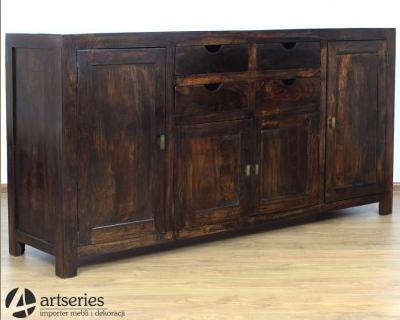 Kupić Duża drewniana komoda 75674 szafka palisander