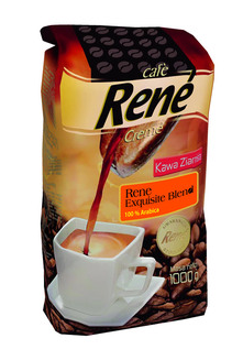 Rene Exquisite Blend 1 KG - to 100 % Arabica