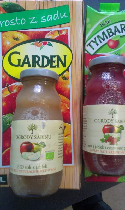Kupić Soki owocowe naturalne i napoje