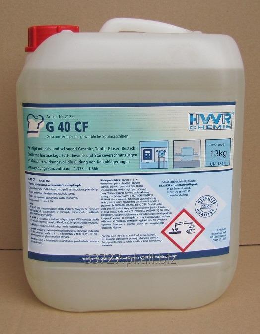 Kupić G 40 CF płyn myjący do zmywarek gastronomicznych. Super koncentrat.
