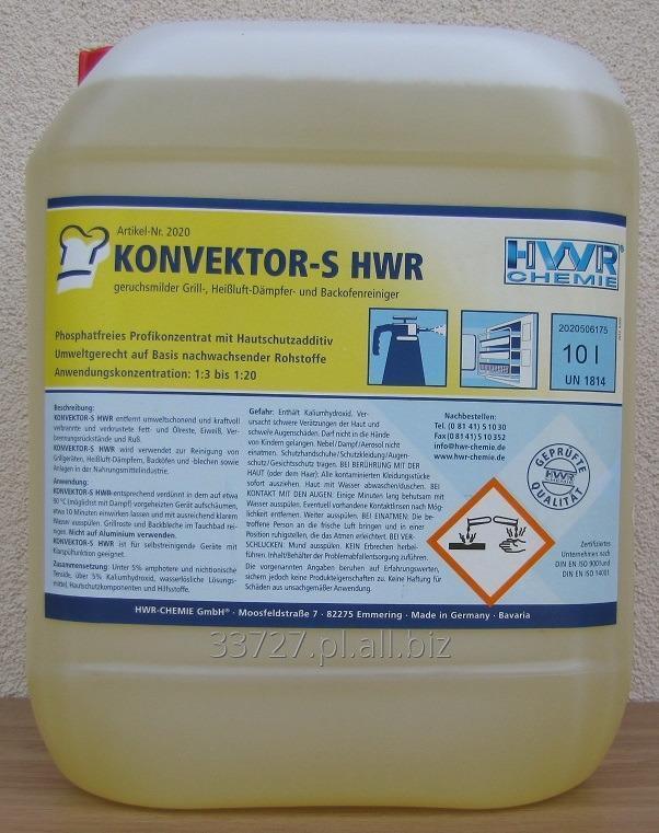 Kupić Konvektor-S Środek czyszczący o delikatnym zapachu do grilli, piekarników, pieców konwekcyjnych - KONCENTRAT