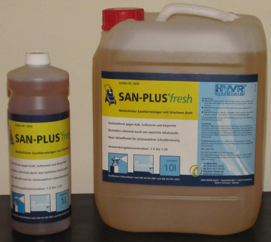 Kupić SanPlus Fresh - naturalny środek do czyszczenia sanitariatów.