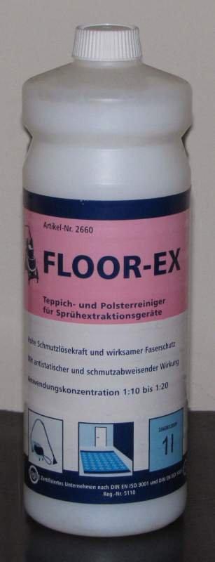 Kupić Floor-Ex płyn do maszynowego czyszczenia dywanów, wykładzin, tapicerki.