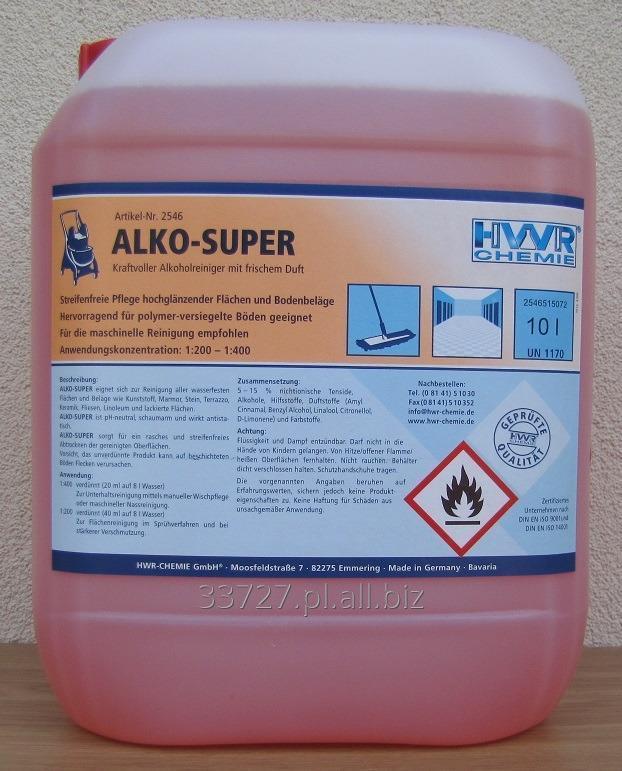 Kupić Alko-Super - alkoholowy preparat do maszynowego czyszczenia podłóg.