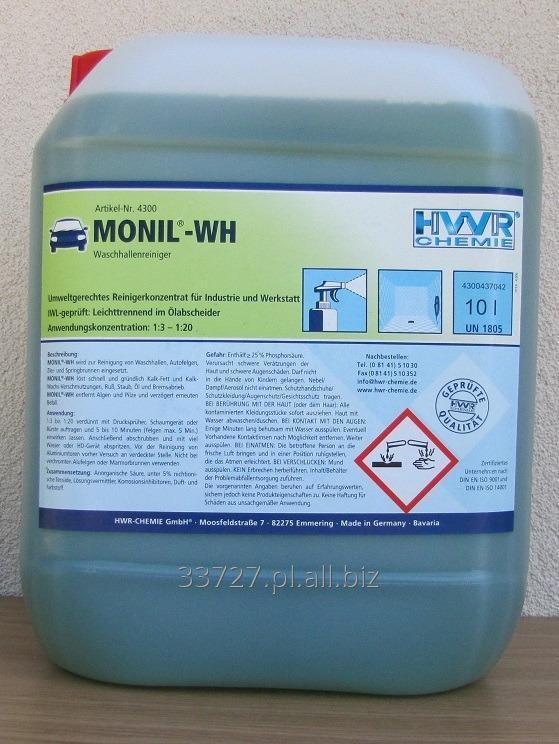 Kupić Monil-WH do czyszczenia myjni, felg, oraz zbiorników wodnych i fontann