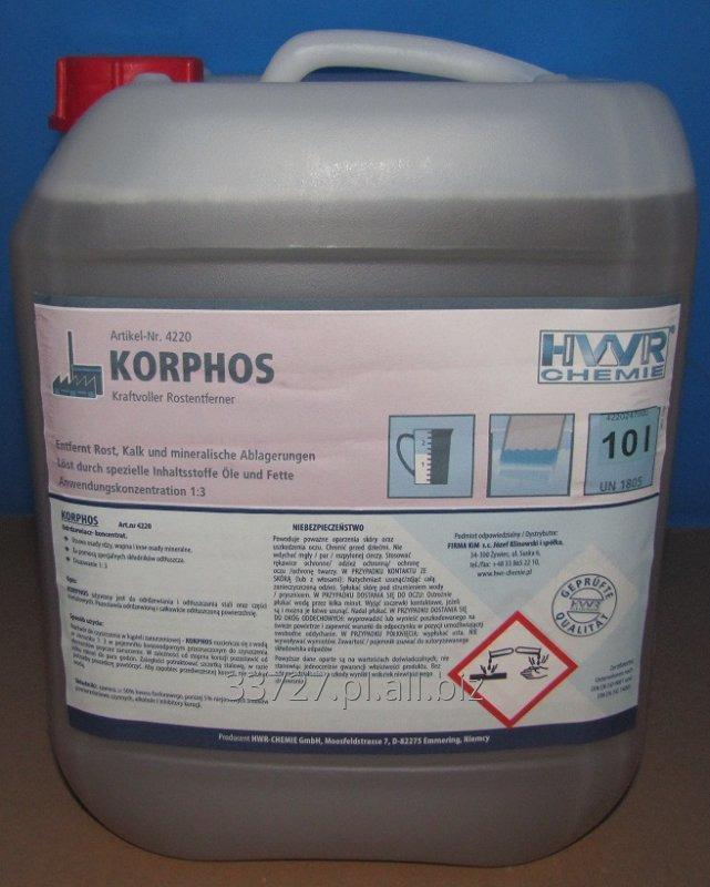 Kupić Korphos- odrdzewiacz - koncentrat