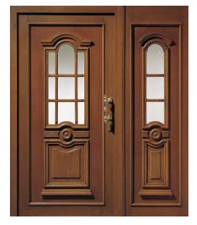 Kupić Drzwi drewniane model H301 kolor mahoń