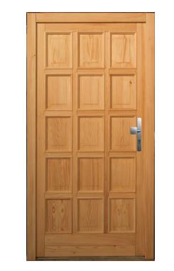 Kupić Drzwi wejściowe model W66 - jodła