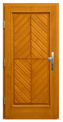 Kupić Drzwi wejściowe model Daniela kolor sosna