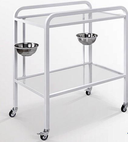 Kupić Stolik zabiegowy , stolik zabiegowy z pojemnikami , meble medyczne , stoliki zabiegowe do gabinetów medycznych