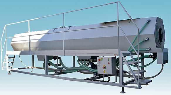 Kupić Wanna chłodząca WCh służy do chłodzenia wyrobów z tworzyw termoplastycznych, stosowana jest głównie w liniach wytłaczania rur po wannie chłodzącej próżniowej