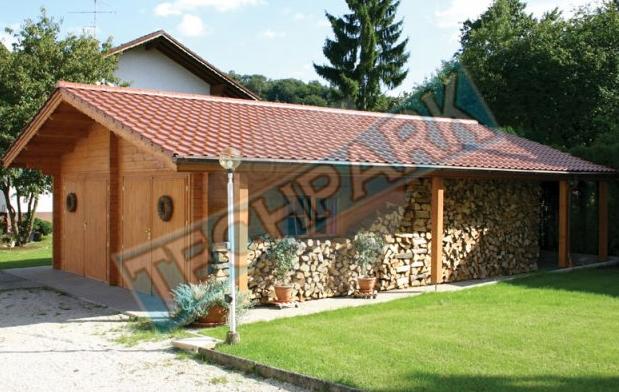 Kupić Garaże drewniane z dodatkową przestrzenią