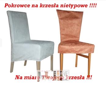Kupić Pokrowce na krzesła nietypowe