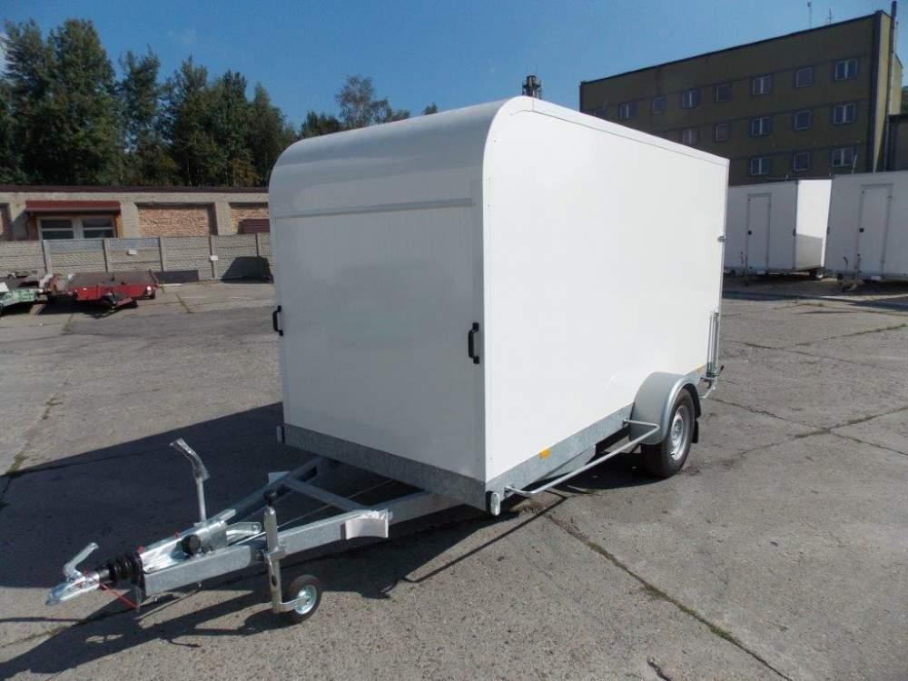 Kupić Przyczepa izotermiczna jednoosiowa 1350 kg, kontener izotermiczny DK