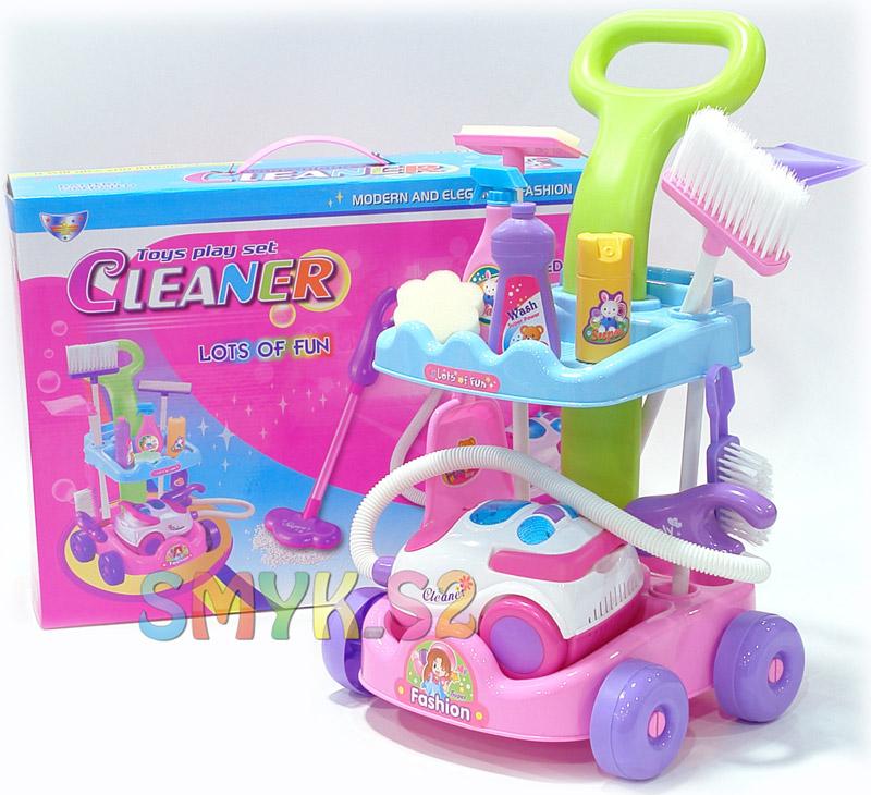 Kupić Zestaw Do Sprzątania Wózek Odkurzacz Akcesoria 006