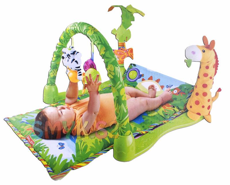 Kupić Mata Edukacyjna Rainforest dla niemowląt 3w1 008