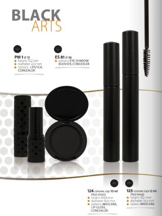 Kupić Opakowania kosmetyczne Black Arts
