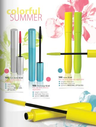 Kupić Opakowania do kosmetyków kolorowych
