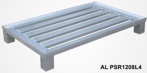 Palety aluminiowe na stopach / Алюминиевые поддоны на ножках