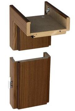 Kupić Ościeżnica regulowana okleinowana folią finish , ościeżnica z płyty MDF , ościeżnica drzwiowa