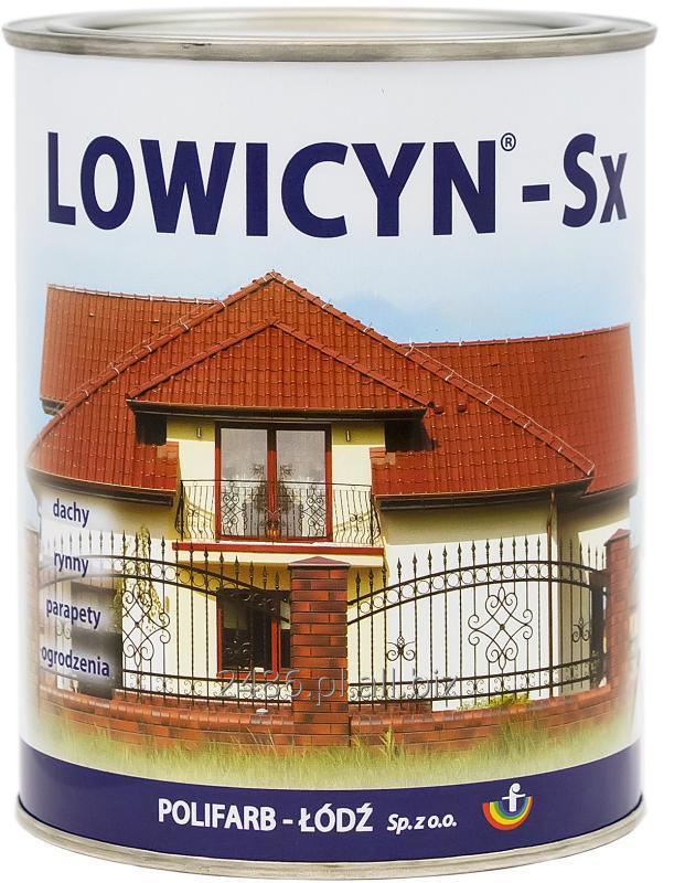 Kupić LOWICYN-Sx - farba przeznaczona do malowania powierzchni ocynkowanych o powłokach z połyskiem