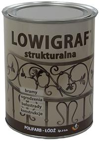 Kupić LOWIGRAF STRUKTURALNY wysoce dekoracyjna matowa, nawierzchniowa farba poliwinylowa o powłokach strukturalnych