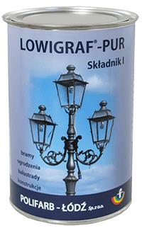 Kupić LOWIGRAF-PUR wysoce dekoracyjna gruntoemalia poliuretanowa dwuskładnikowa na metale