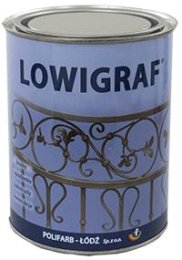 Kupić LOWIGRAF - farba poliwinylowa nawierzchniowa do krat i ogrodzeń