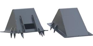Podstawki klinowe do mocowania pojazdów CSW 60 / клиновые подставки тип ЦПВ 60