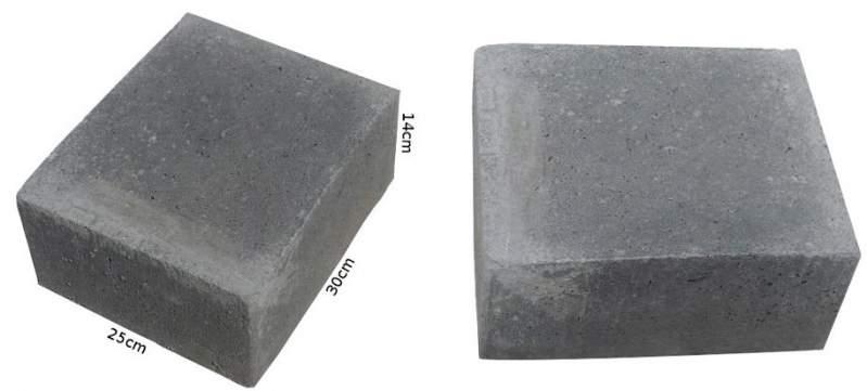Kupić Bloczek betonowy o wymiarach 14x25x30cm