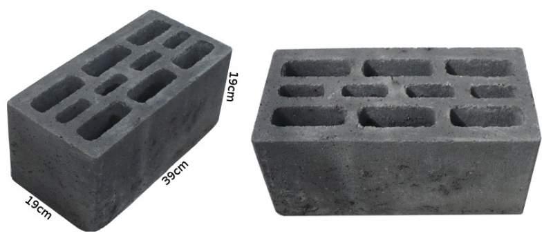 Kupić Pustak betonowy o wymiarach 19x19x39 cm
