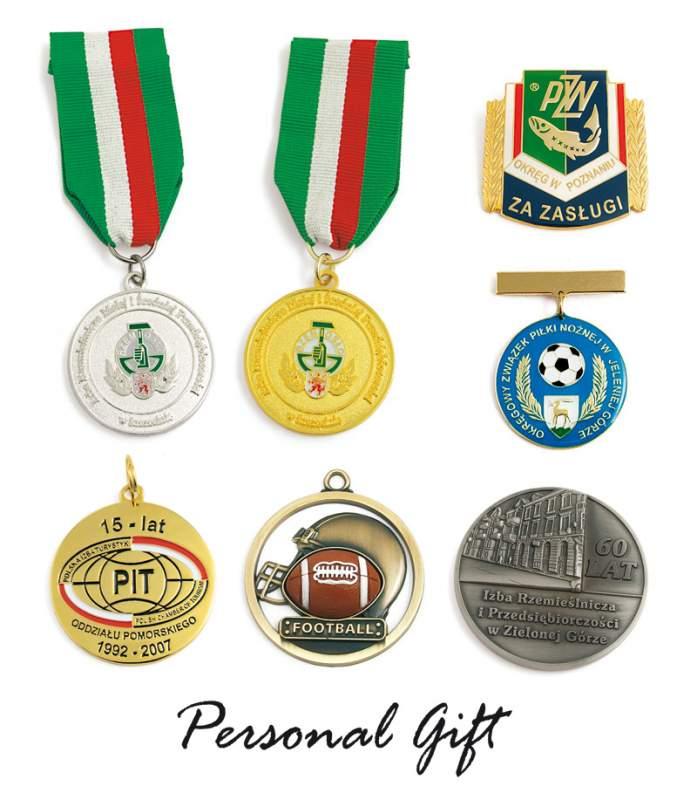 Kupić Medale pamiątkowe z logo