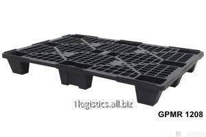 Palety plastikowe ażurowe 1200 x 800 / Поддоны перфорированные 1200x800