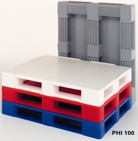 Palety plastikowe higieniczne 1200 x 1000 / Поддоны с монолитной поверхностью 1200x1000