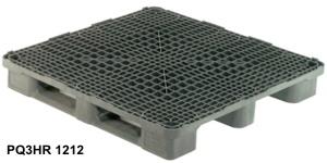Palety plastikowe do regałów 1200x1200 / Поддоны для стеллажей 1200x1200
