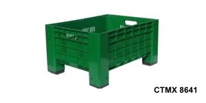 Skrzyniopalety plastikowe CTM 800 x 600, 1200 x 800 / Ящико - поддоны 300 – 1400 л CTM 800 x 600, 1200 x 800