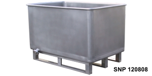 Stainless steel containers on skids/Ёмкости из нержавеющей стали