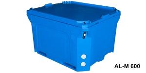 Kontenery izolowane z tworzywa sztucznego 600 - 1700 l / Изолированные контейнеры oт 600 дo 1700л