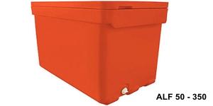 Pojemniki z tworzywa sztucznego izolowane z pokrywami 50 - 350 l / Изолированные контейнеры oт 50 дo 350л