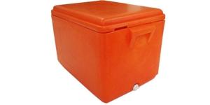 Pojemniki izolowane z pokrywami 35 - 200 l stosowane przez producentów lodu w kostkach, żywności i napojów,na mobilnych stoiskach sprzedażowych / Изолированные контейнеры oт 35 дo 200л