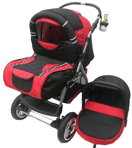 Kupić Wózek dziecięcy z możliwością zamontowania moskitiery i folii przeciwdesczowej