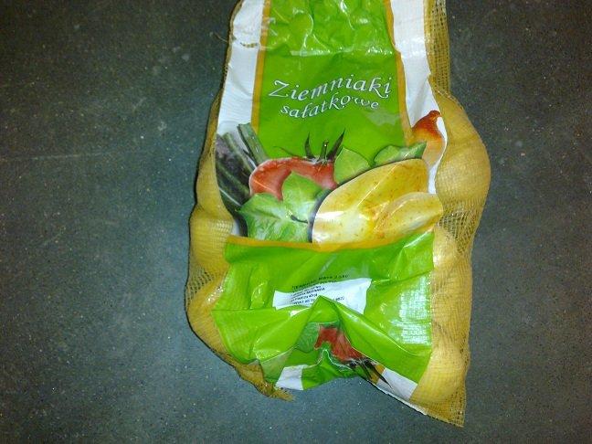 Kupić Ziemniaki myte w opakowaniach 2,5 kg